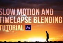 Slow motion and timelapse blending tutorial