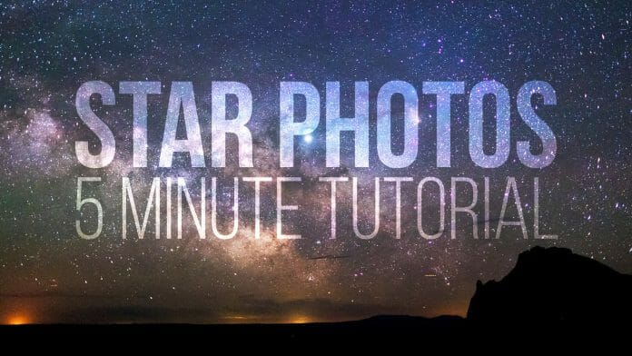 Learn star photography in 5 minutes cover